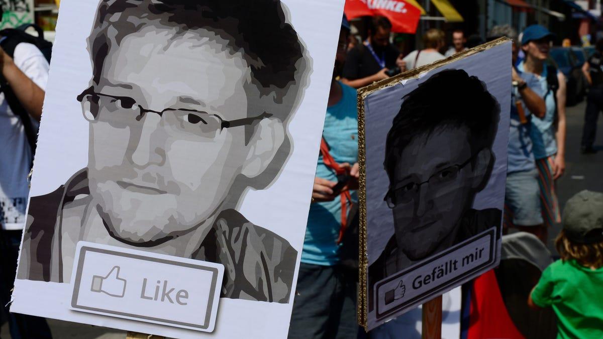 Edward Snowden's NFT Self-Portrait Sells for $5.4 Million