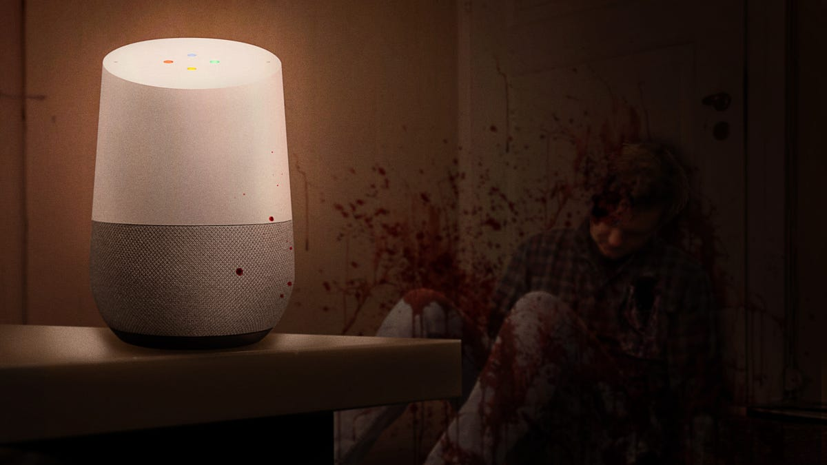 Husband Returning Late At Night Accidentally Killed By Frightened Google Home