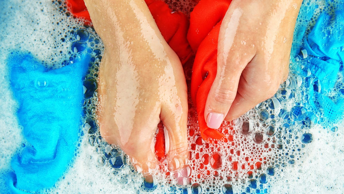 How To Properly Clean Your Hand Wash Only Clothes
