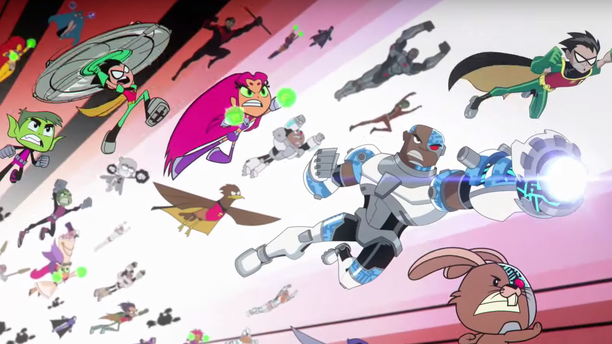 Teen Titans Go Vs Teen Titans Crossover Trailer Released-8223