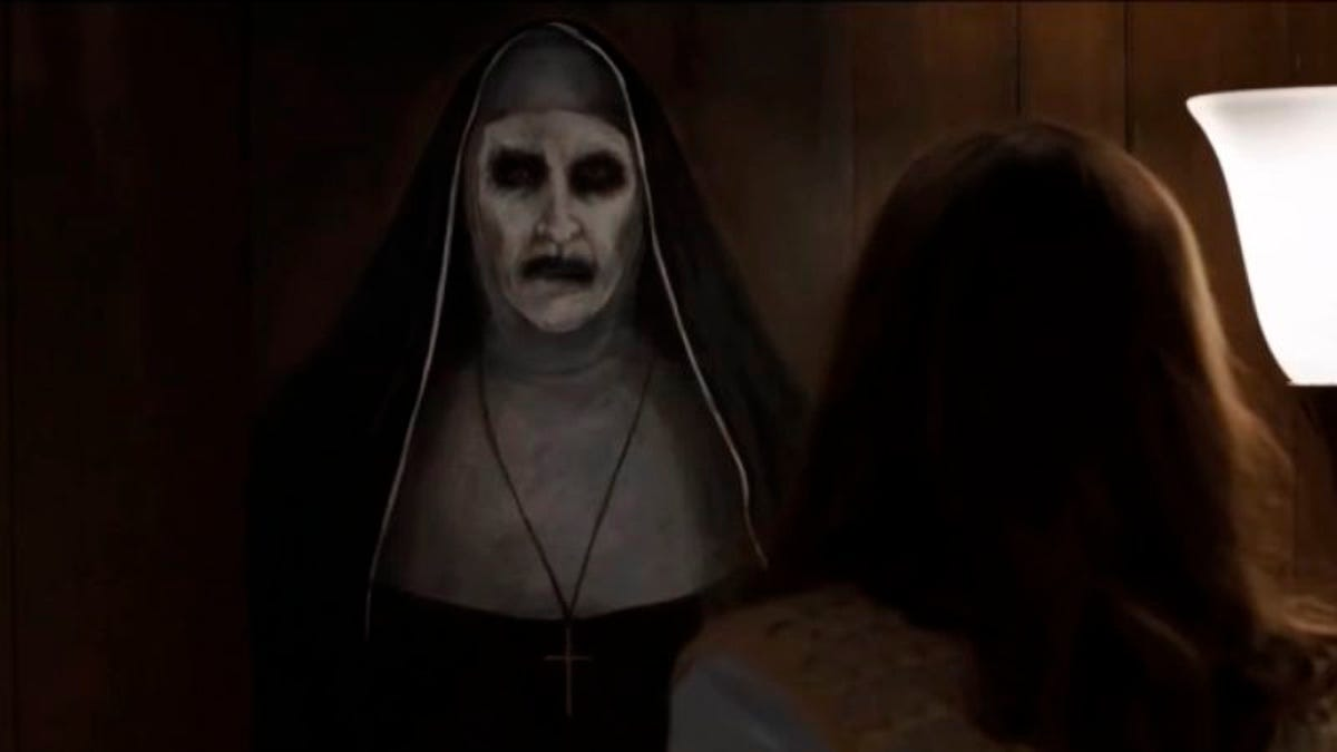 The Conjuring spin-off The Nun is coming to rap your knuckles next summer