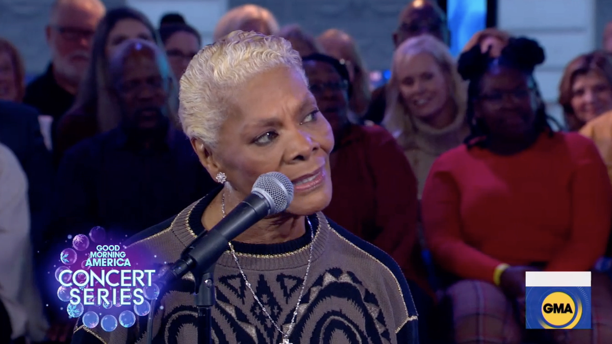 What Dionne Warwick Wants for Christmas: Some Rest