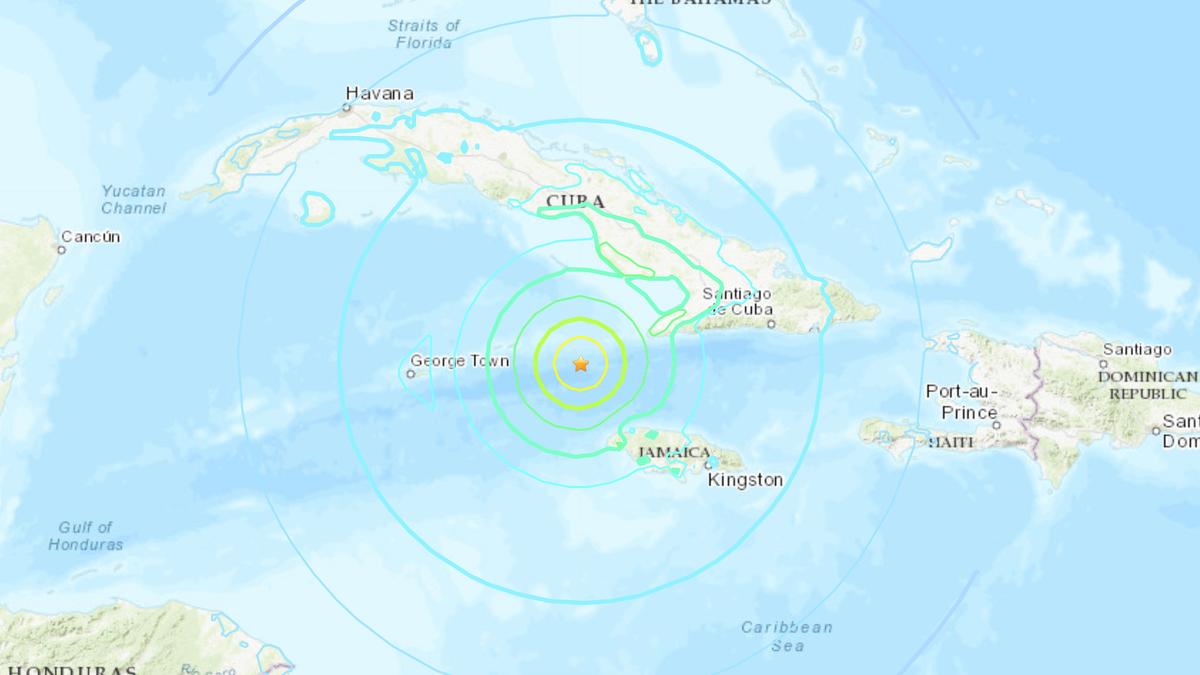 Powerful Earthquake Jolts Caribbean Near Jamaica