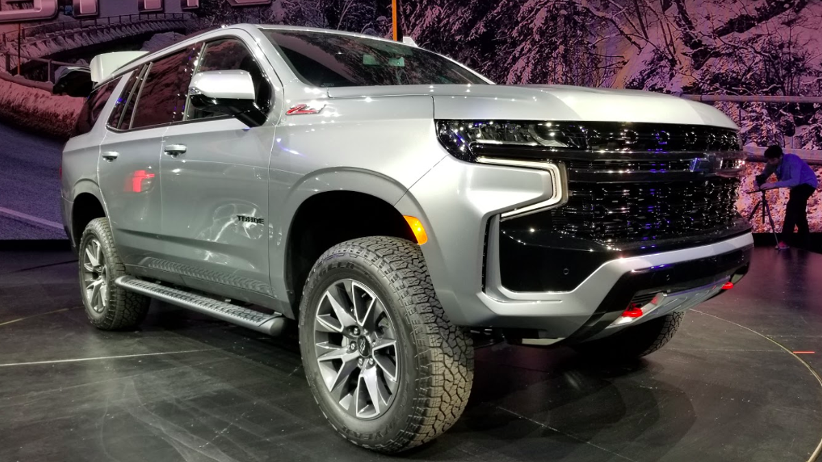 Here's A Quick Look At The 2021 Chevrolet Tahoe Z71's Off ...
