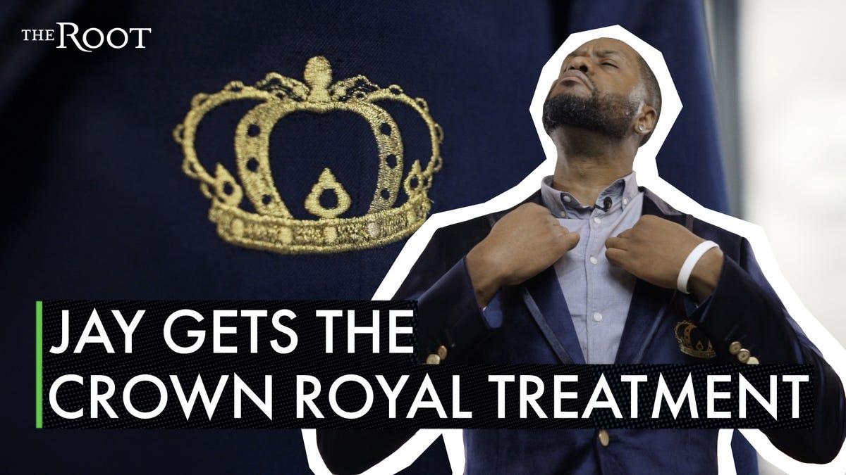 A Blazer for Black Royalty: Crown Royal Released a New Slick Blazer, and Ya Boy Tried It