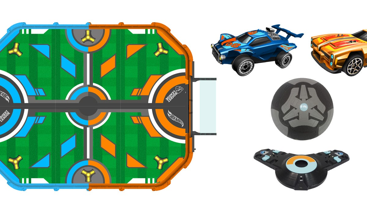 Hot Wheels Made a Real-Life Version of Rocket League With Tiny RC Cars