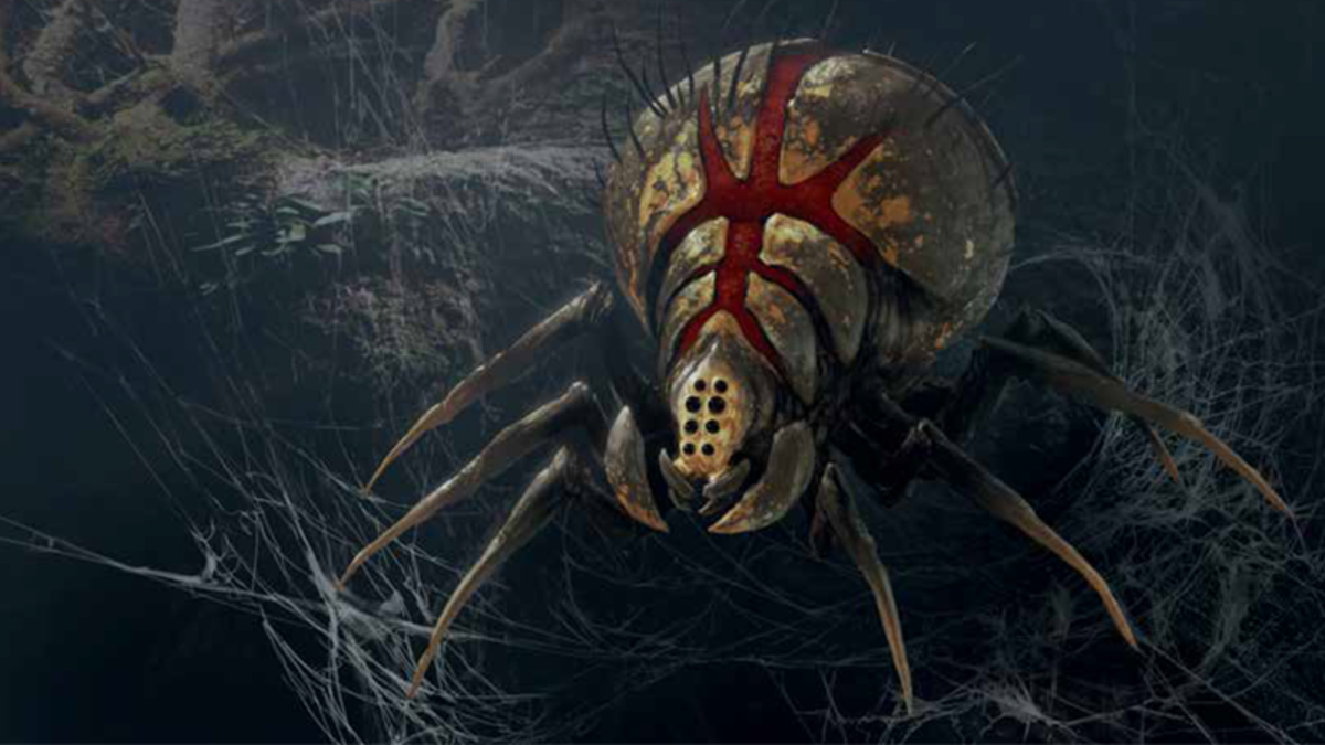 Inside the Art of Star Wars Jedi: Fallen Order, Kashyyyk's Giant Spiders Are More Horrifying Than Ever