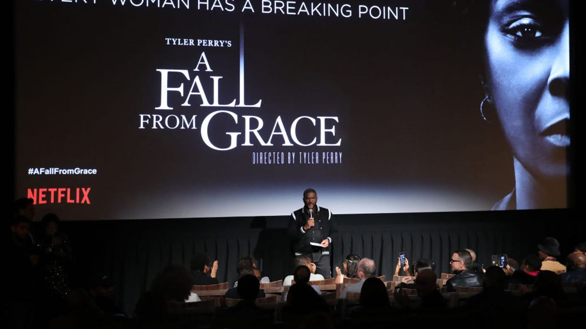 12 Thoughts, Facts, and Opinions About Tyler Perry's Wildly Ridiculous, Entertaining Movie, A Fall From Grace