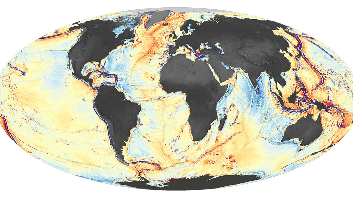 Ocean Floor Map Ever Made