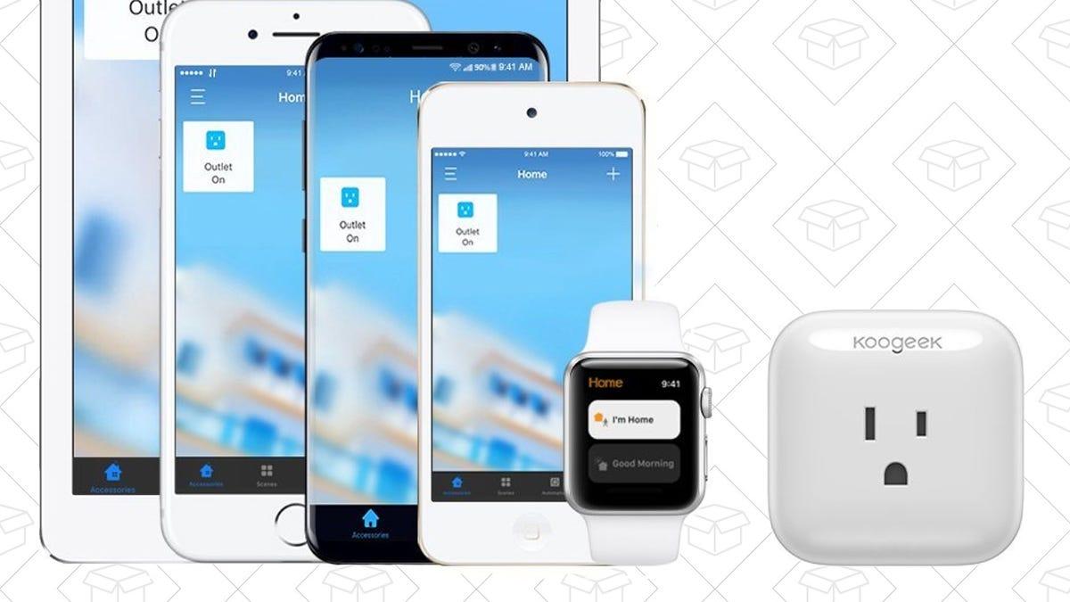 This $25 Smart Plug Works With Alexa, Google Home, and Even Apple HomeKit