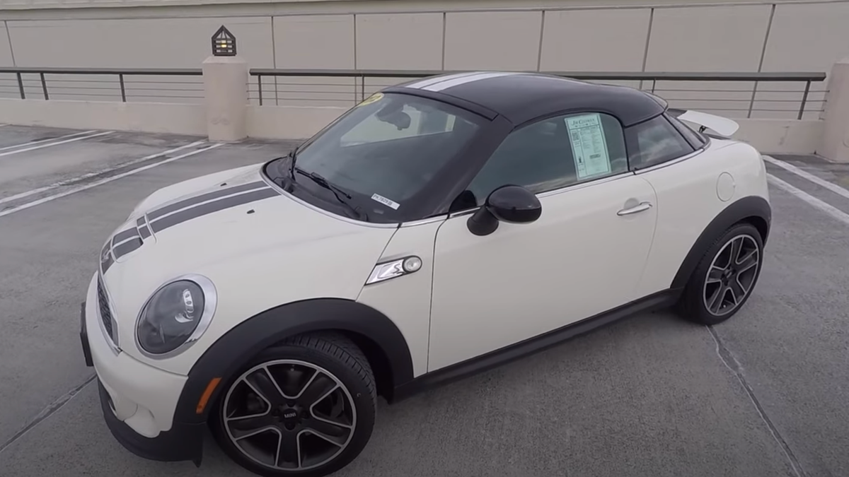 I'm Still Thinking About The Mini Cooper Coupe