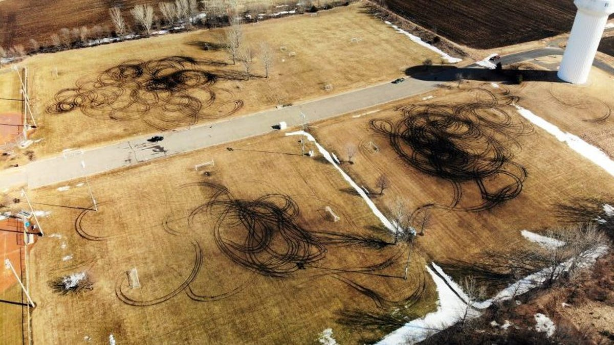 Local Idiots Wreck Minnesota Soccer Field By Doing A Bunch Of Donuts On It