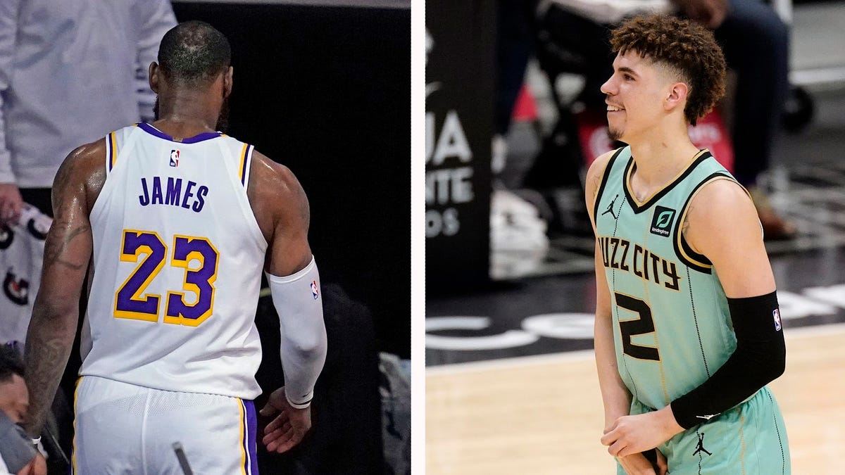 With LeBron and LaMelo out, it was a bad weekend for stars in the NBA