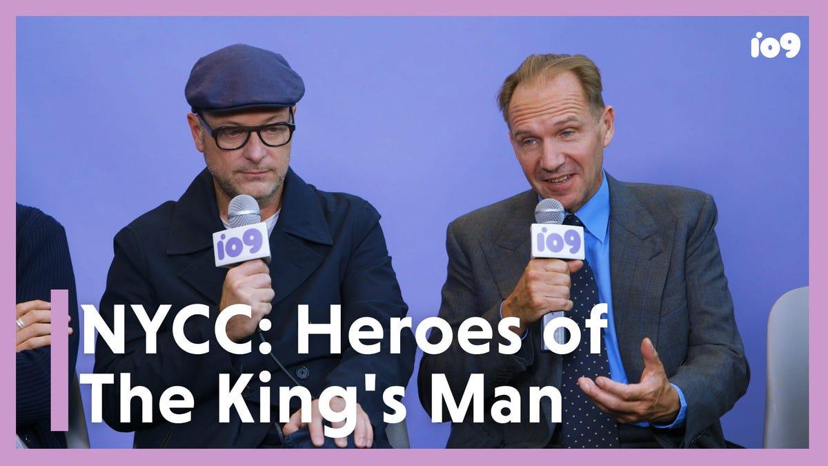 The King's Man's Matthew Vaughn and Ralph Fiennes on Keeping Superheroes Human