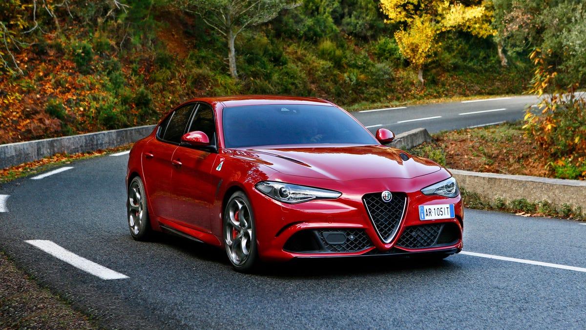 Alfa Romeo Lease >> Surprise The Alfa Romeo Giulia Quadrifoglio Is Also