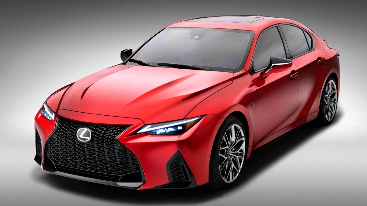 Lexus Shoves A 5.0-Liter V8 Into The IS To Create The IS500 F Sport - Jalopnik