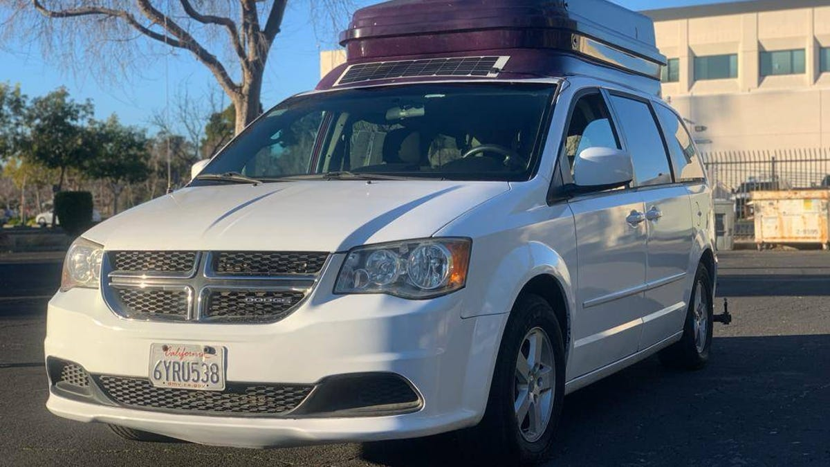 At $13,500, Is This 2013 Dodge Caravan Camper A Deal?
