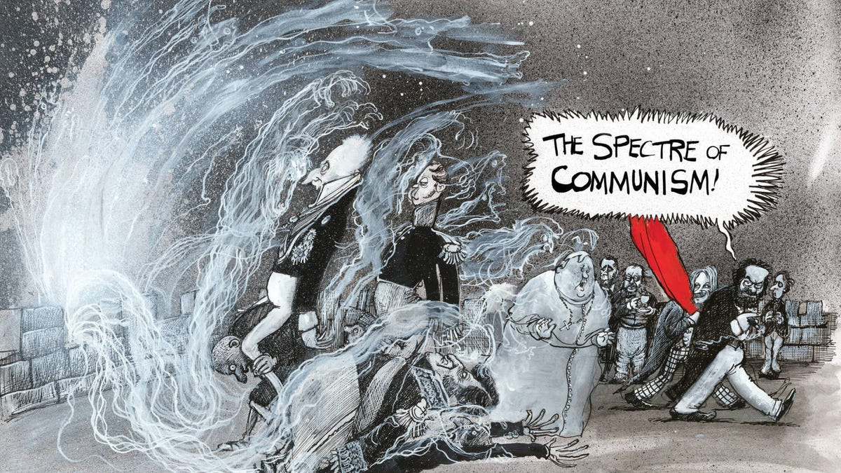 The Communist Manifesto Gets a Comic Adaptation That's Both Nightmarish and Timely