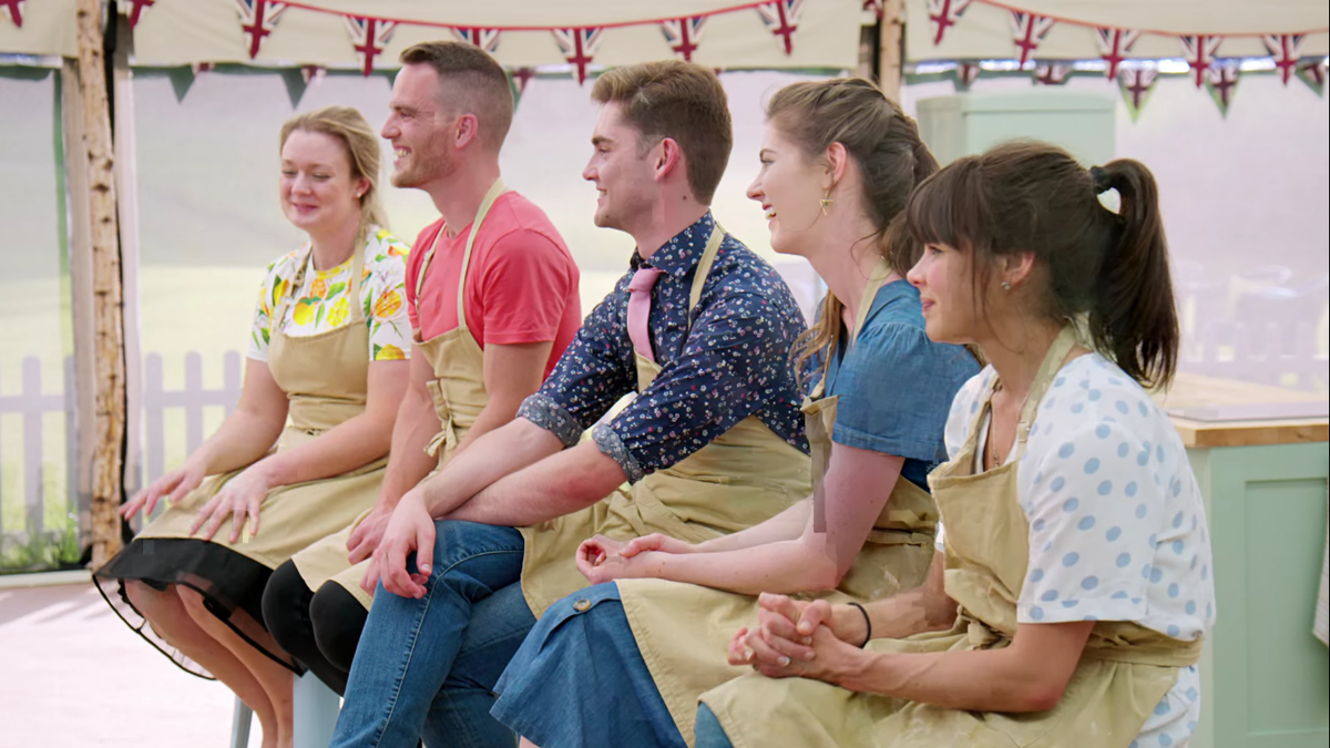 The Great British Baking Show's Pastry Week is one straight hour of WTF