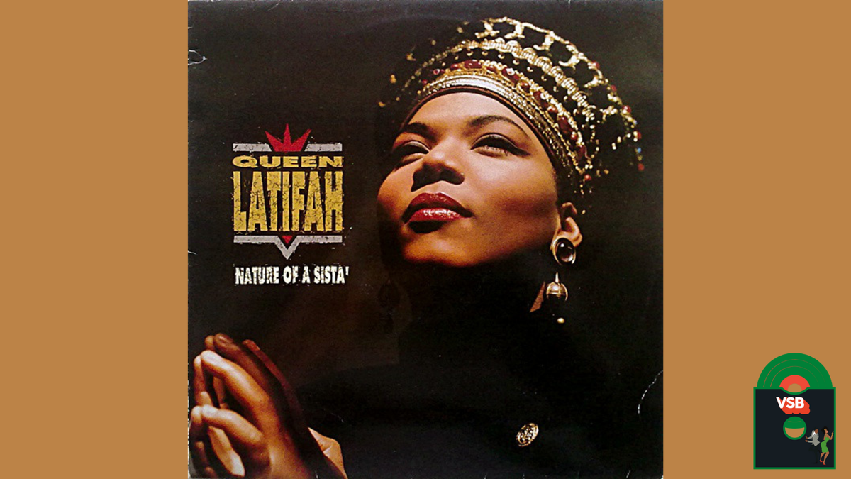 28 Days of Album Cover Blackness With VSB, Day 6: Queen Latifah's Nature of A Sista' (1991)