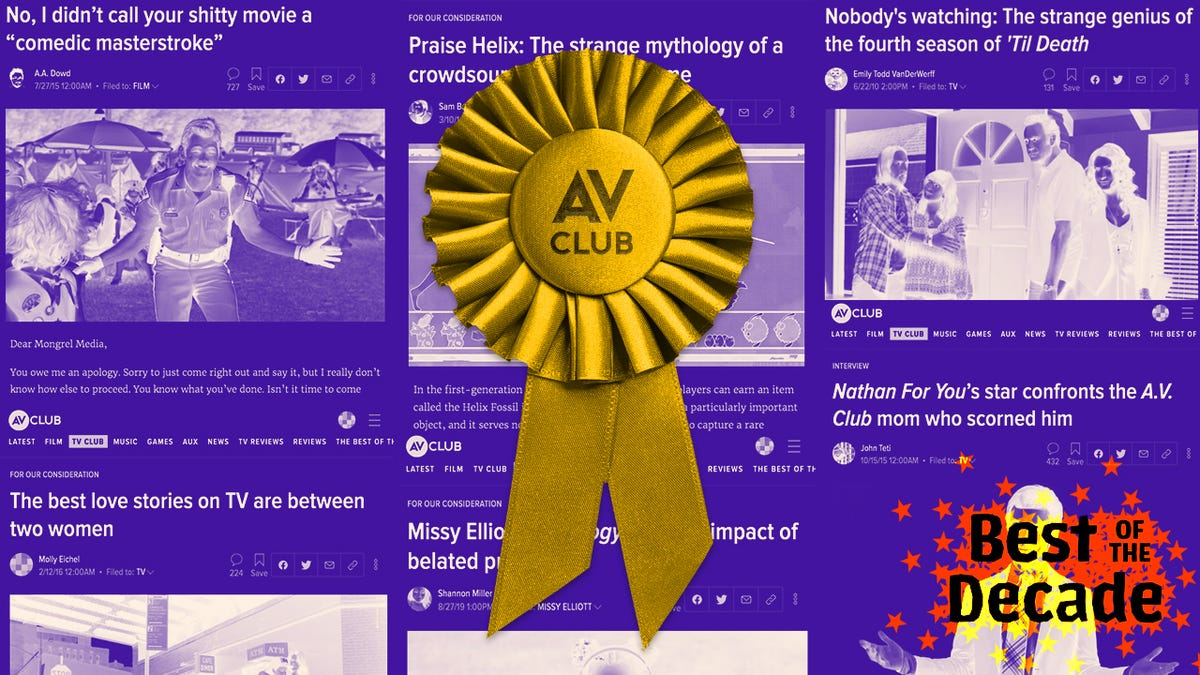 The best of The A.V. Club in the 2010s