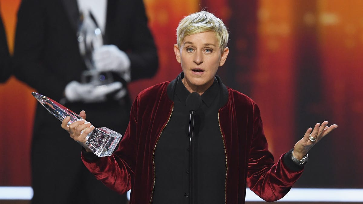 Ellen Wants Us All To Know She's Nice Now—And She Has The Subscription Box To Prove It