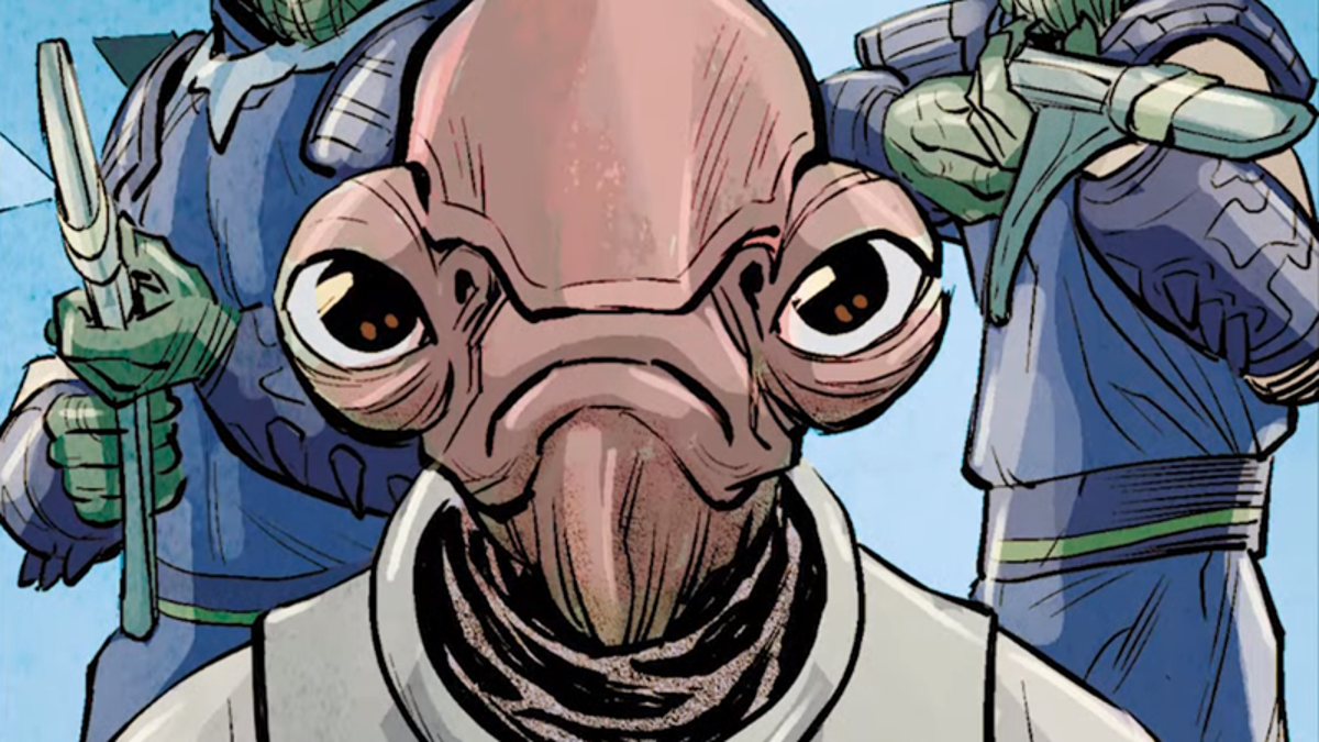 Admiral Ackbar Has a Son, and He Could End Up in The Rise of Skywalker