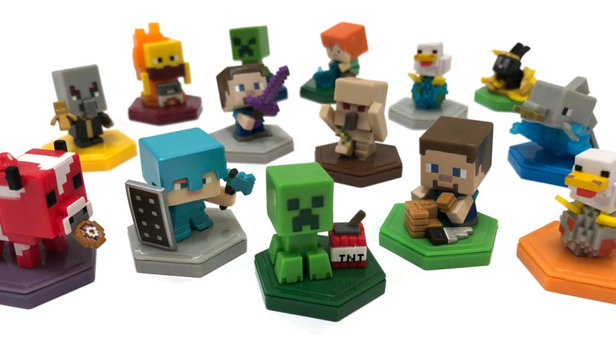 Mattel Is Making Cute Mini NFC-Enabled Toys For Minecraft Earth - Kotaku
