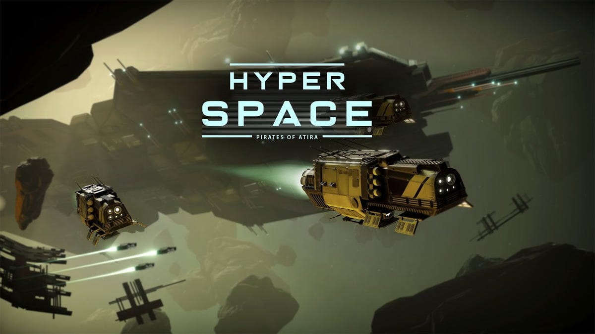 This is HyperSpace: Pirates of Atira, an upcoming co-op indie space game where players take control of different aspects of a starship and try to work together to keep everyone alive. This kind of thing has of course been tried before, but the division of labour here seems really cool!