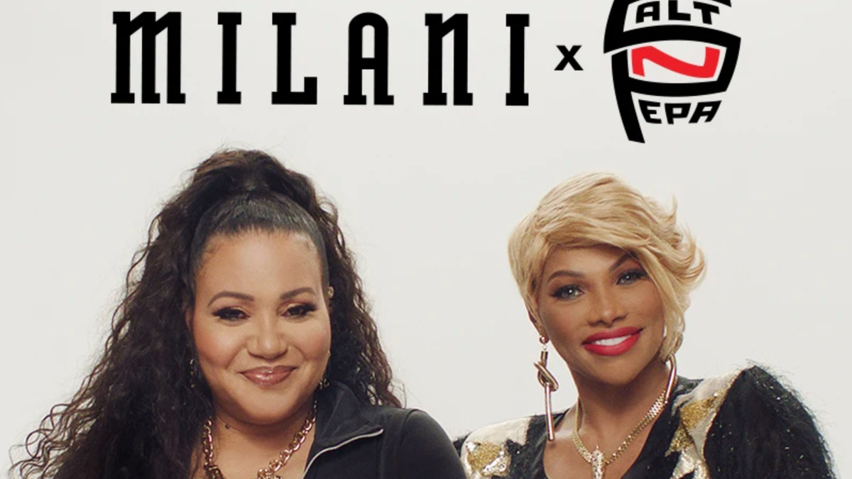 Salt-N-Pepa's Here, and They're in Effect...With a Musically Inspired Makeup Collab With Milani