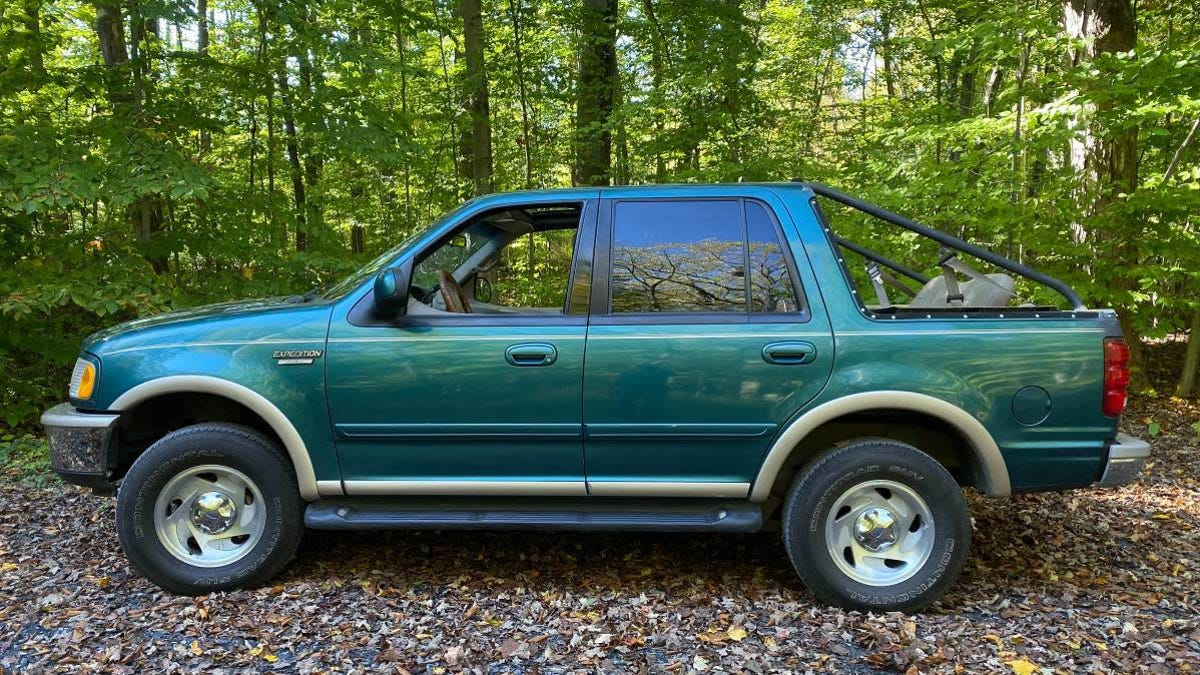 At $4,000, Could This Custom 1997 Ford Expedition Have You Flipping Your Lid?