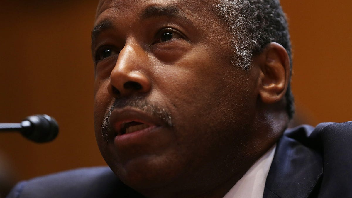 Ben Carson Says He Doesn't Have to Know Anything About Housing Policy, He Just Has to Be Able to Boss Around t