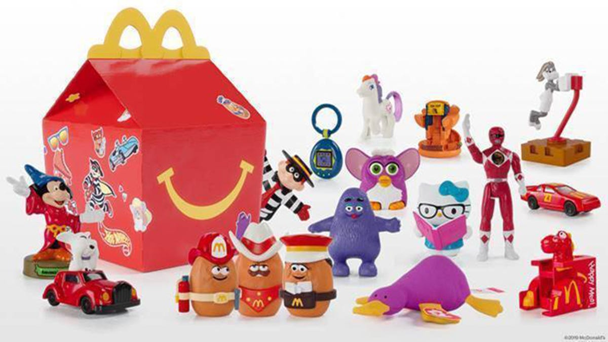 McDonald's Brings Back Classic Happy Meal Toys