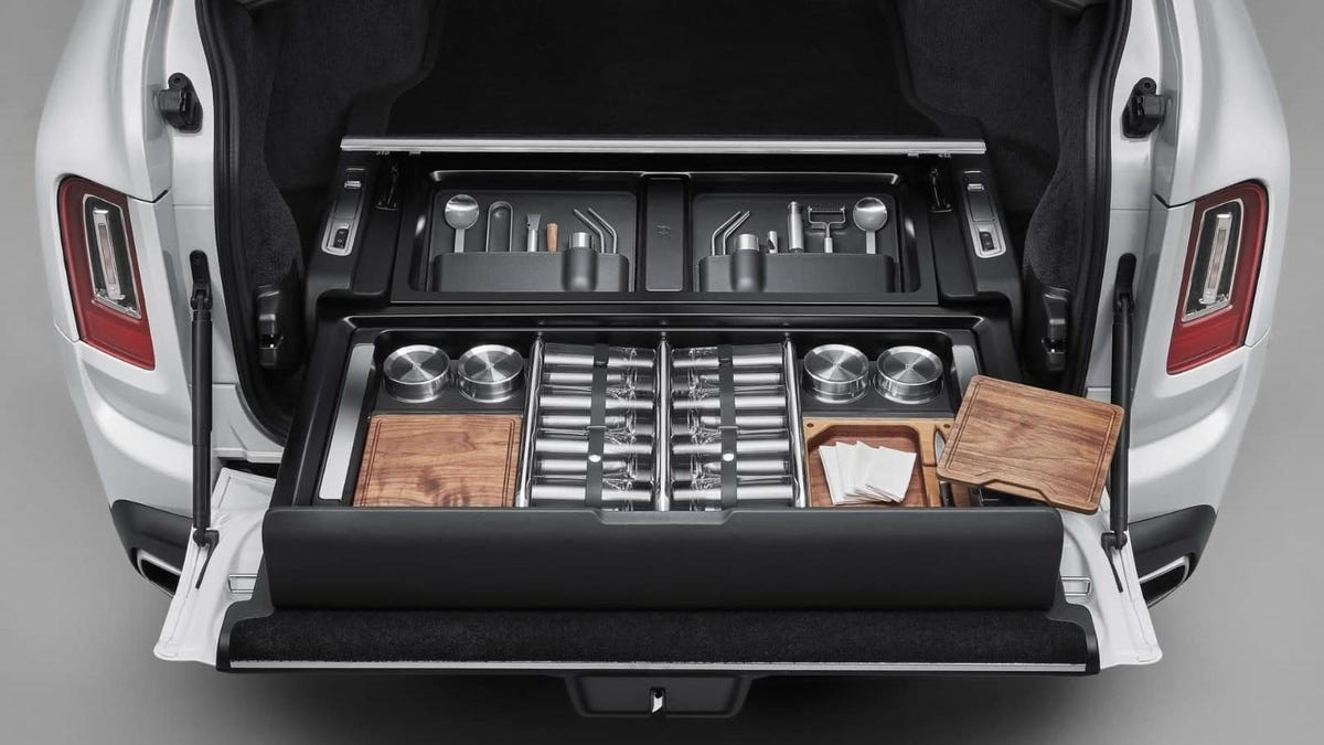 Rolls-Royce Says Skip The Backpack And Basket For Your Cullinan