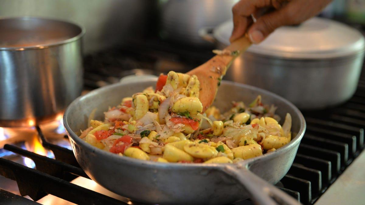 Ackee and saltfish looks like scrambled eggs, tastes like Jamaica