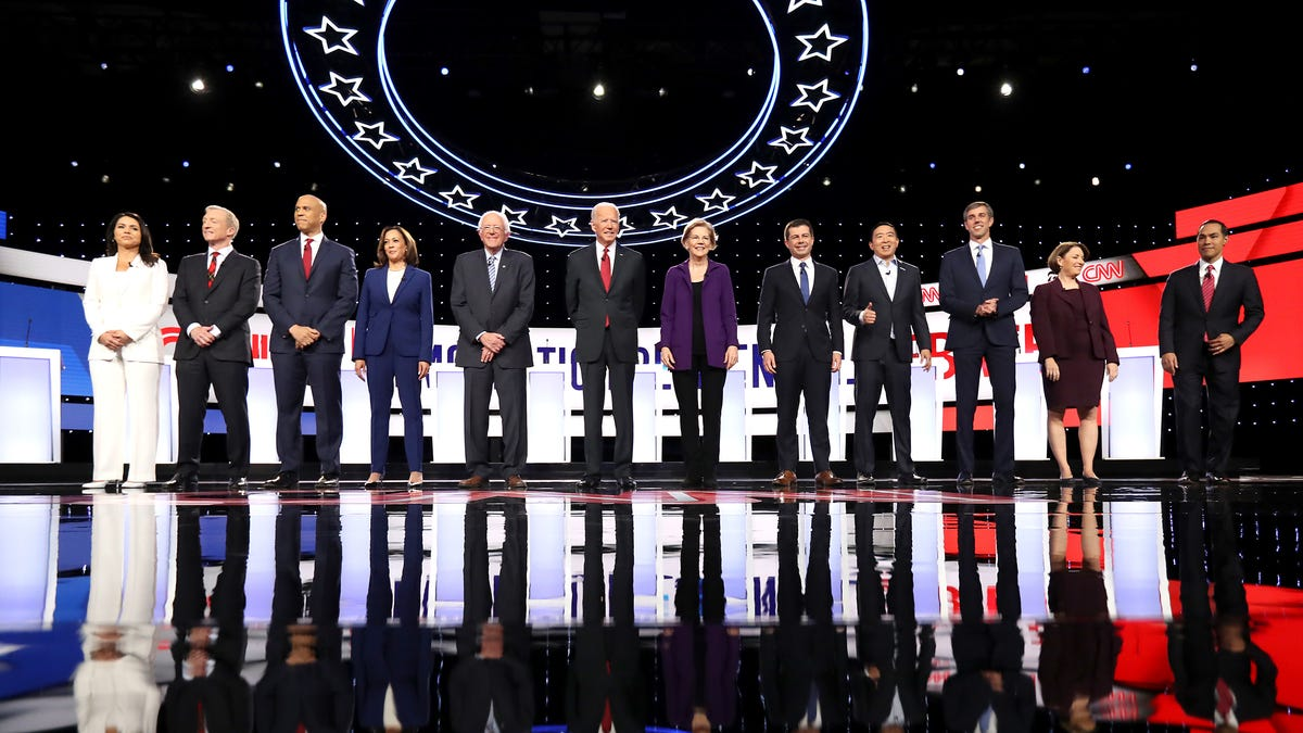 The Best Moments From Last Night's Democratic Debate