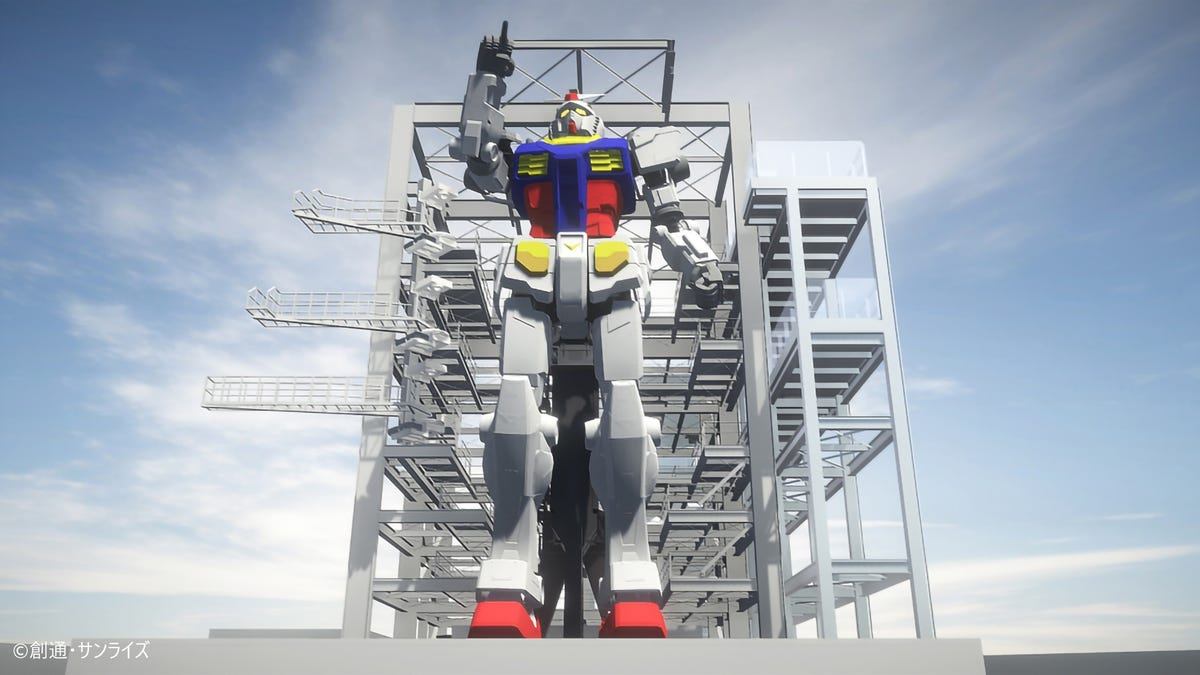 Japan's Latest Giant Gundam Is Glorious And Nearly Finished