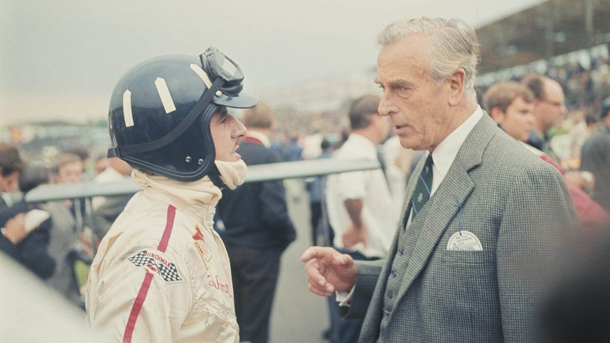 Let F1 Legend Graham Hill Talk You Through Setting Up A Race Car In 1964