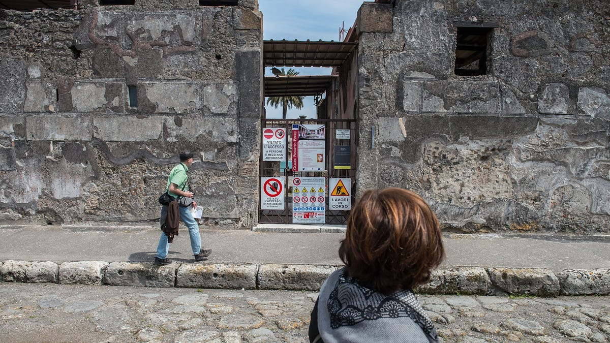As If the Volcano Wasn't Bad Enough, Now Pompeii Faces the Tourists