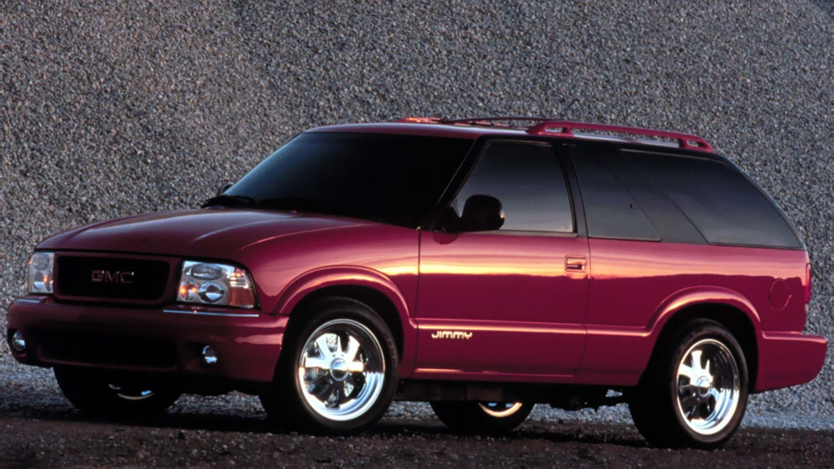 I don't know how close it came to production, but GMC thought hard enough about a second-generation
