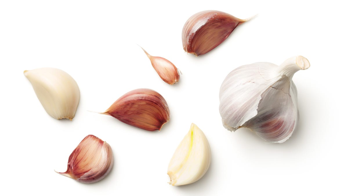 Save Tiny Garlic Cloves for Stock