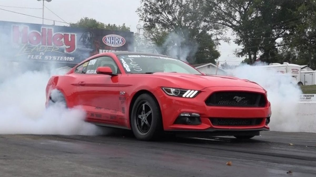 You Can Buy A Twin-Turbo 1200 HP Ford Mustang For Only $45,000