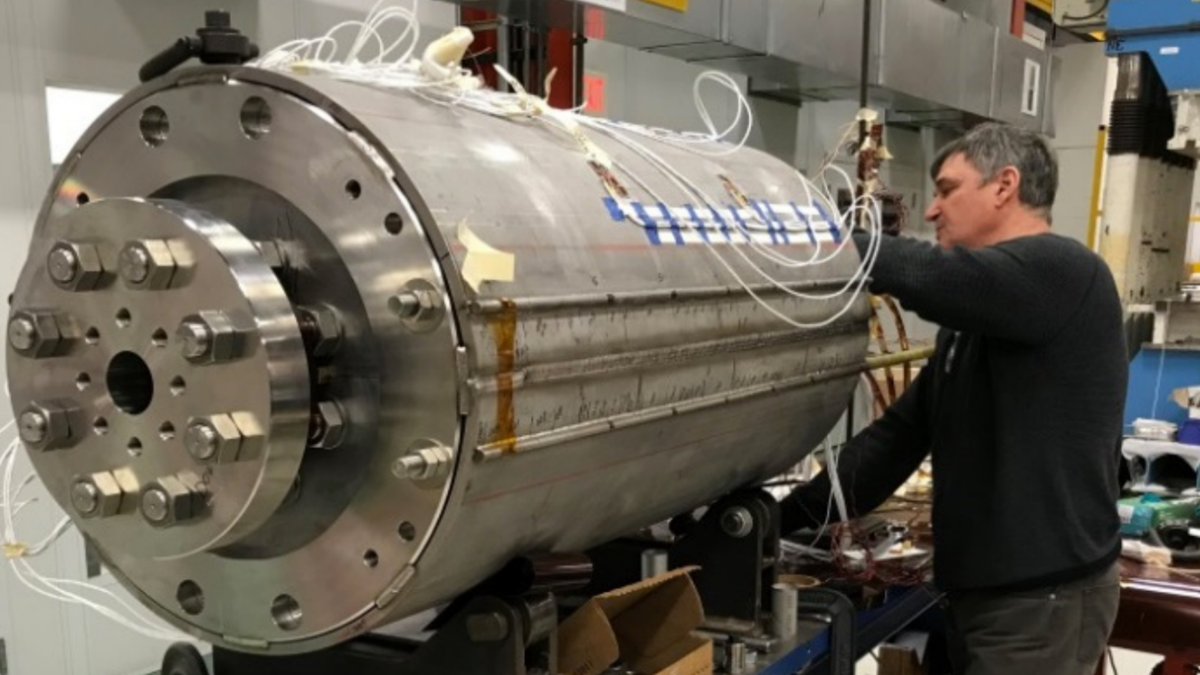 Scientists Debut Powerful Magnet for Future Particle Collider