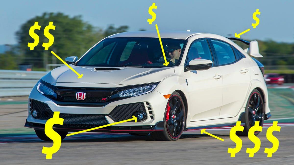 Astounding Five Mods Id Do To My 2017 Honda Civic Type R Immediately Machost Co Dining Chair Design Ideas Machostcouk