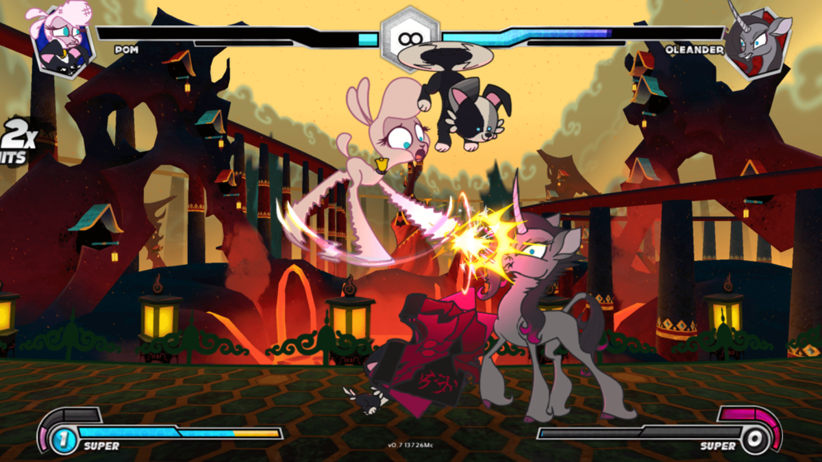 My Little Pony-Inspired 2D Fighting Game Will Leave Early Access April 2