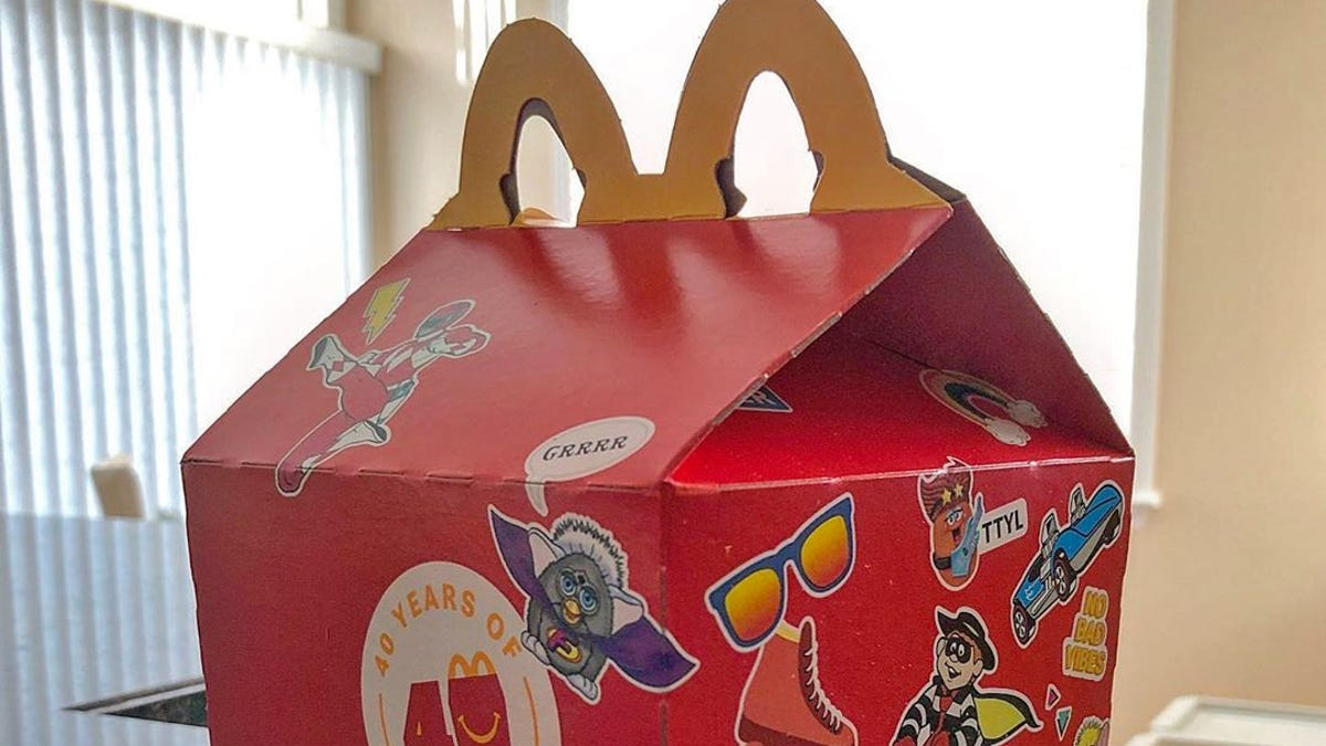McDonald's UK Will Stop Putting Plastic Toys in Happy Meals Next Year