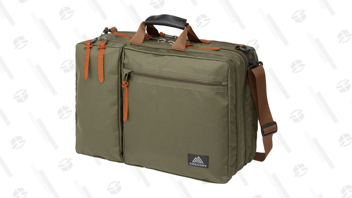 This Gregory Briefcase Backpack Hybrid Is Down To Its Lowest Price Ever On Huckberry