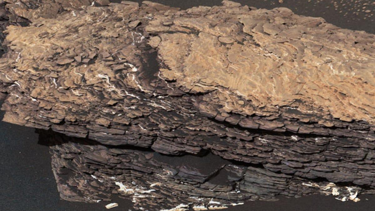NASA's Curiosity Rover Stumbles Upon a Strangely Complicated Martian Rock