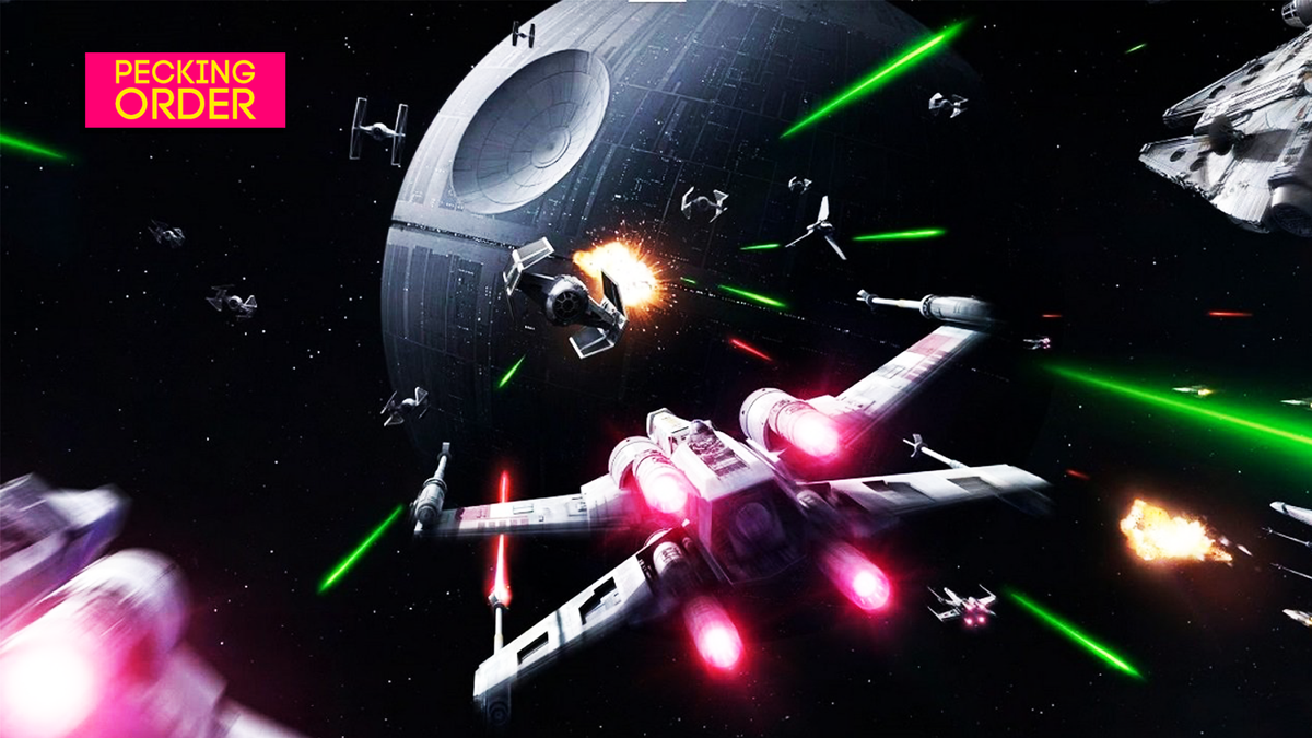 Let's Rank Star Wars Space Combat Games, From Worst To Best