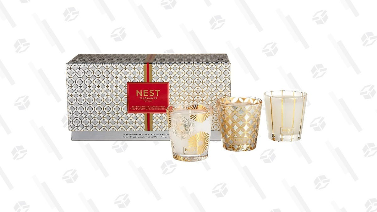 Christmas Has Truly Come in July With 50% off This Candle Trio Set From Nest